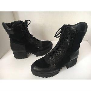 Kendall & Kylie Platform Combat Boots